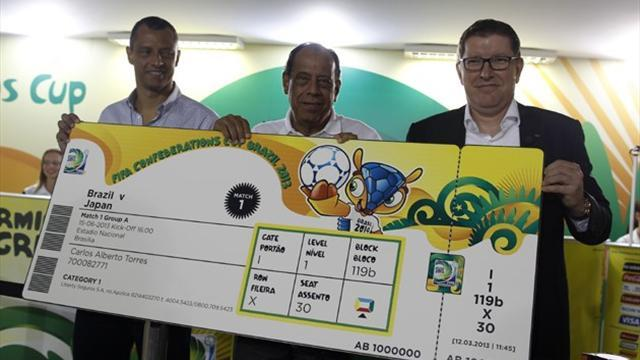 Confederations Cup - FIFA urges Brazilian fans to collect ordered tickets