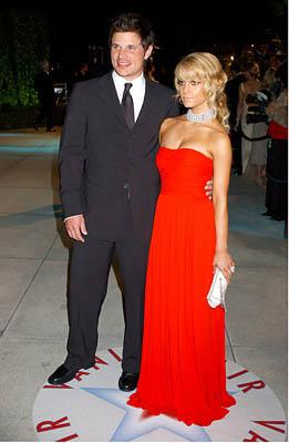 Nick Lachey and Jessica Simpson 77th Annual Academy Awards - Vanity Fair Party Hollywood, CA - 2/27/05