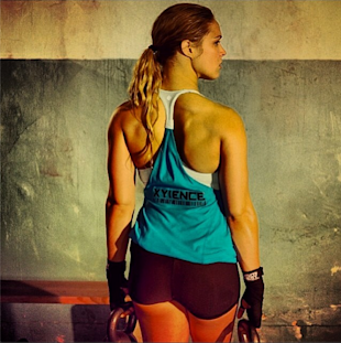 UFC Fighter Ronda Rousey Shares Lingerie Photos On Instagram (Photos) image ronda rousey