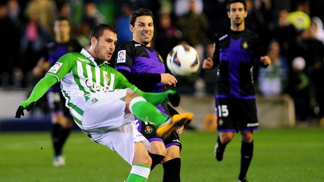 La Liga - Betis and Valladolid play out stalemate