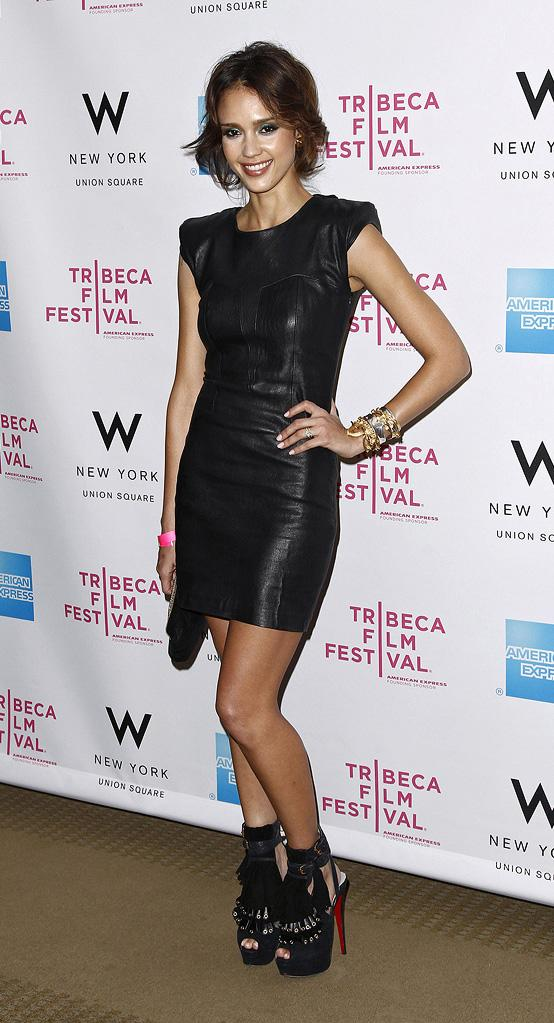 9th Annual Tribeca Film Festival 2010 Jessica Alba