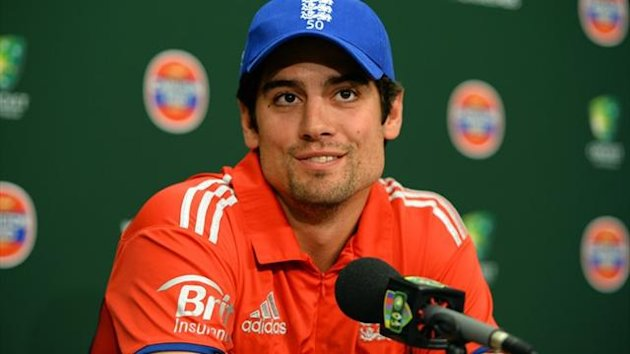 England captain Alastair Cook (AFP)
