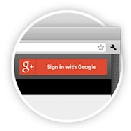 Google Plus New Security Update image sign in button