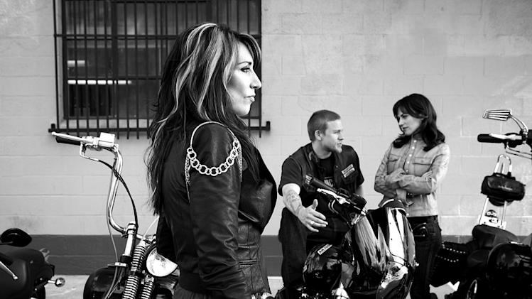 "Katey Sagal stars as Gemma Teller in ""Sons of Anarchy."""