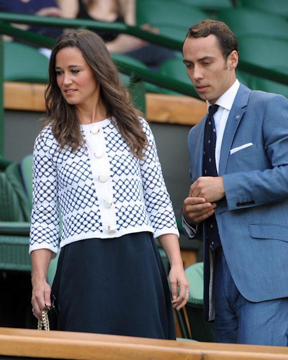 Pippa Middleton y su hermano James