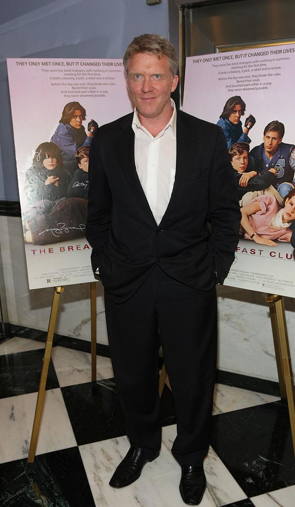 The 25th Anniversary of Breakfast Club 2010 Anthony Michael Hall