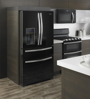 Whirlpool brand?s refrigerator with the CoolVox? sound system, seamlessly connects with any Bluetooth® enabled device to infuse entertainment into everyday kitchen moments.
