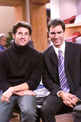 Patrick Dempsey and Eric McCormack on NBC's Will and Grace