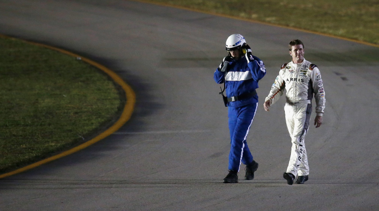 NASCAR championship drivers stumble in qualifying
