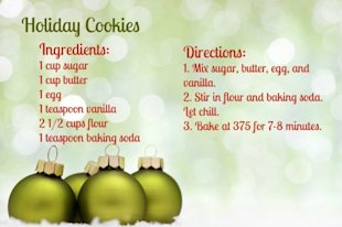 How to Add Value this Holiday Season Without Offering a Discount image Holiday recipe 2 600x399