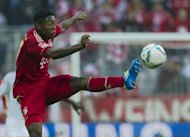 Bayern Munich's Austrian midfielder David Alaba (pictured) and Rafinha will both miss the start of the 2012-13 season due to injuries sustained in their side's 3-2 friendly loss to Napoli, it has been revealed
