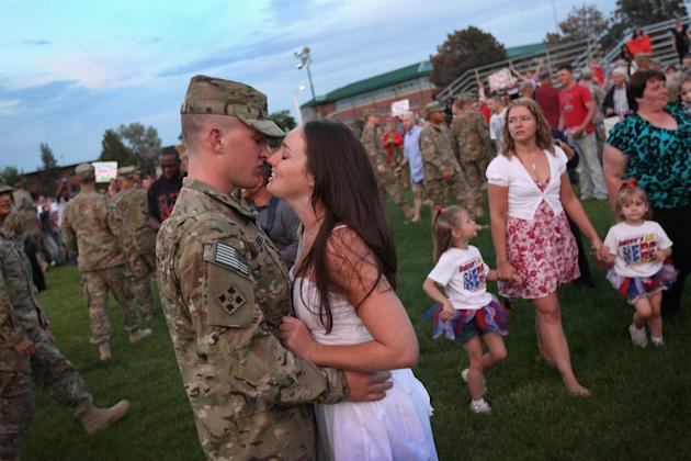 Soldiers From Fort Carson Return From Afghanistan