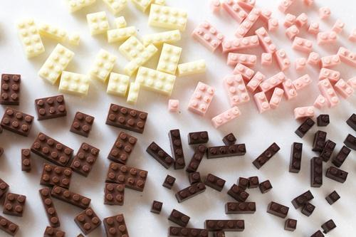 Edible Chocolate Legos Will Make Your Inner Child Go Nuts