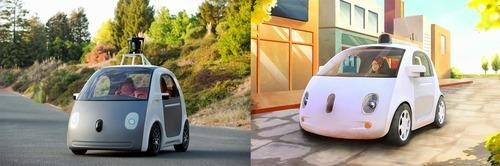 Google Reveals Self-Driving Car with No Steering Wheel or Brake Pedals