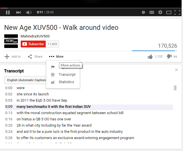 YouTube Transcripts - 8 Ways to Use Transcripts, Captions & Subtitles to Empower your Video SEO