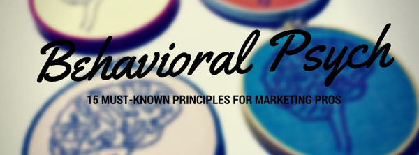 behavioral psychology for marketers
