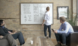Device retrofits any whiteboard with smart capabilities