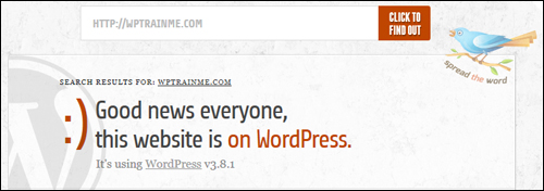 Is It WordPress? - WP Website Checking Tool
