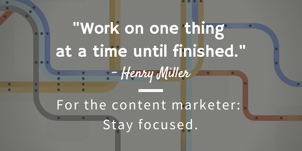 henry miller content advice