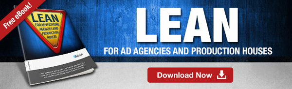 Click to download free eBook on Lean for advertising agencies and production houses