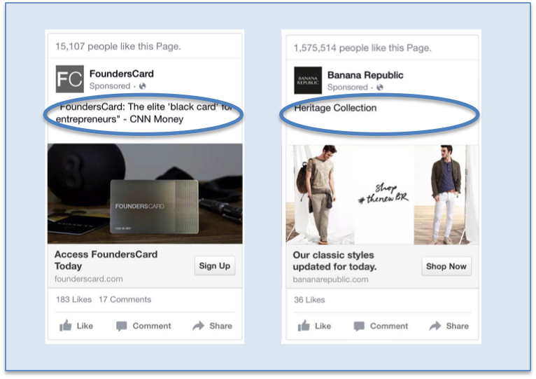 6 Creative Best Practices for Mobile Page Post Ads