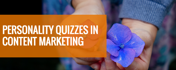 personality quiz for content marketing