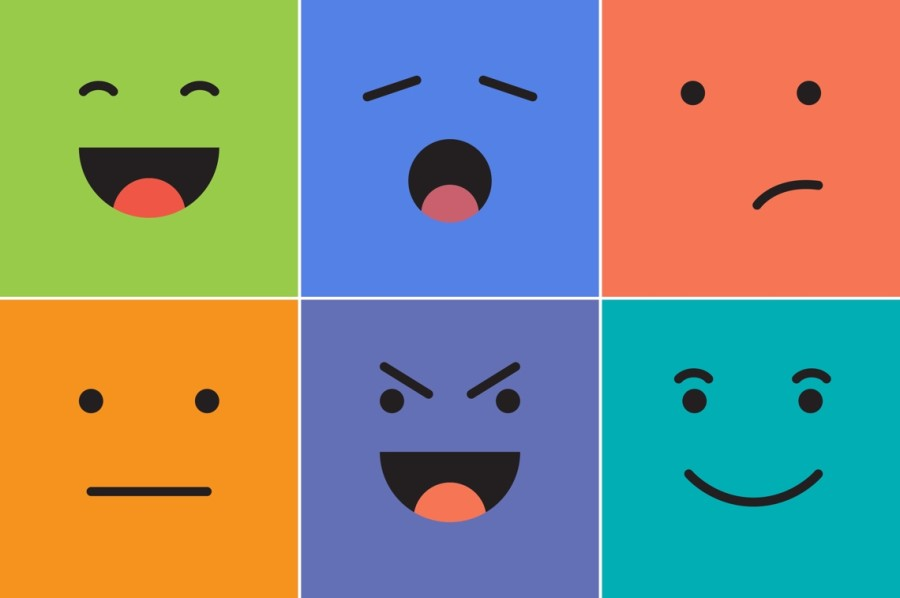 how to create outstanding emotional marketing campaigns grid of six emotional images