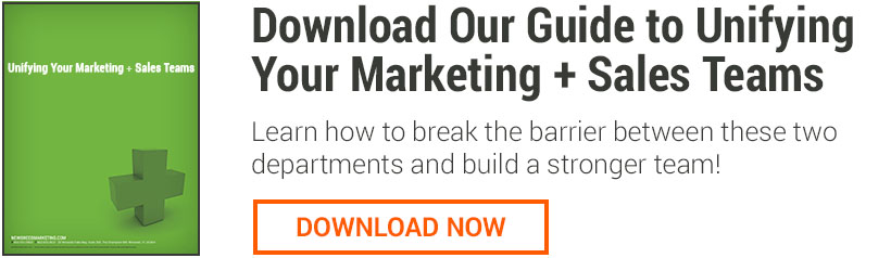 Free Whitepaper: Unifying Your Marketing + Sales Teams [from New Breed Marketing]