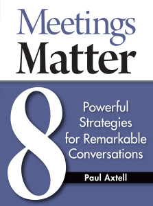 Meetings Matter Cover - Cindy Officer