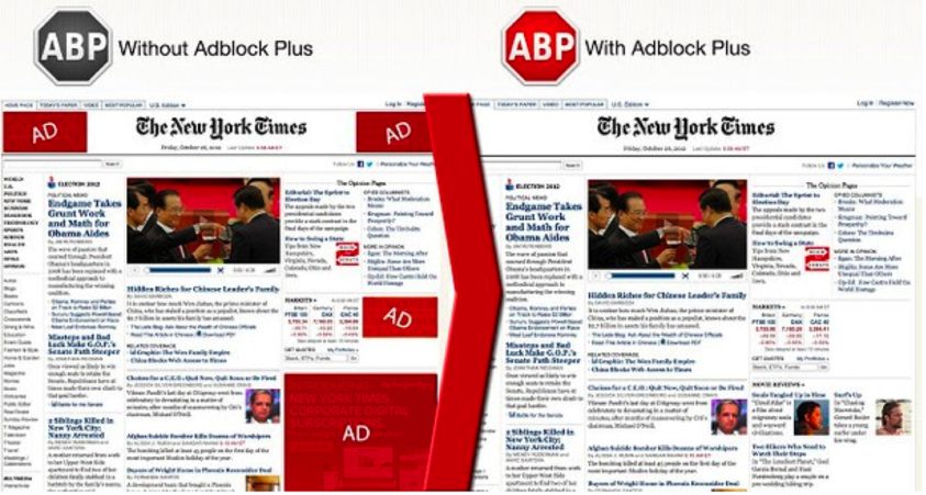 mobile ad blocking, b2b marketers
