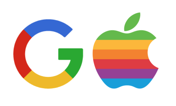 New Google Logo Has Apple in its Crosshairs