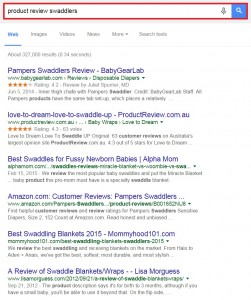 Google Advanced Blog Search - 1