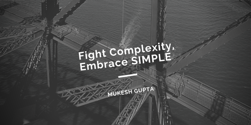 Fight Complexity, Embrace SIMPLE