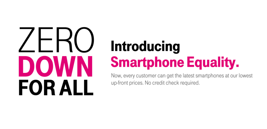 T-Mobile Smartphone Equality