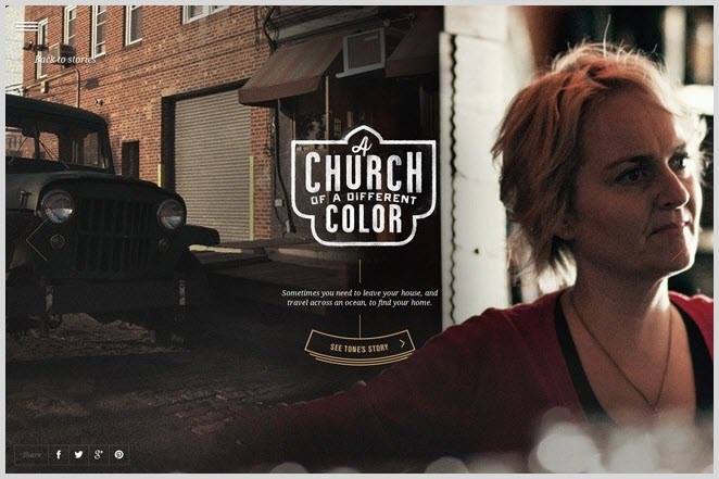 Collaborative content marketing - church of a different color