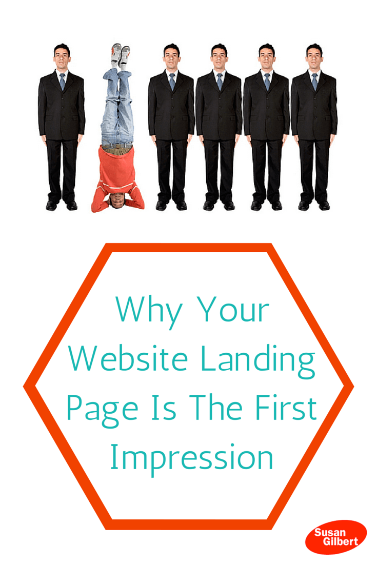Create A Website Landing Page That Stands Out From The Rest SusanGilbert.com