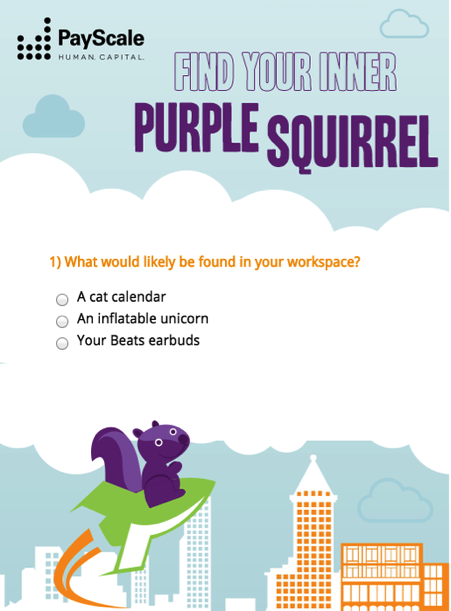 What's Your Inner Purple Squirrel?