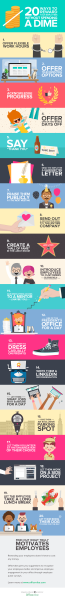20 Ways To Reward Employees Without Spending A Dime (Infographic)