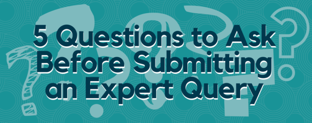 Expert Query Questions