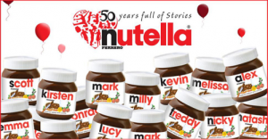 Nutella promotion