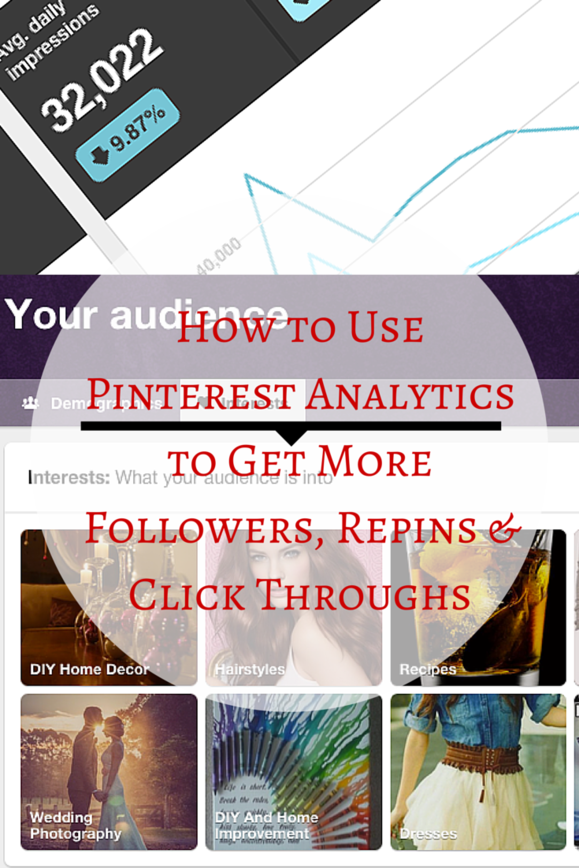 How To Use Pinterest Analytics to Get More Followers, Repins & Click-Throughs