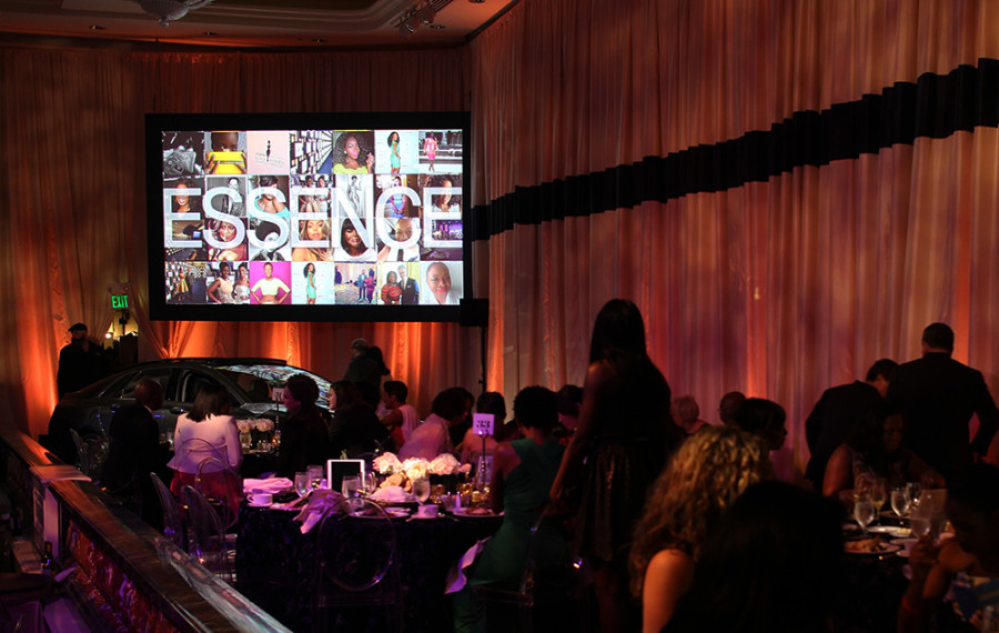 Essence's Black Women in Hollywood Awards Social Media Wall