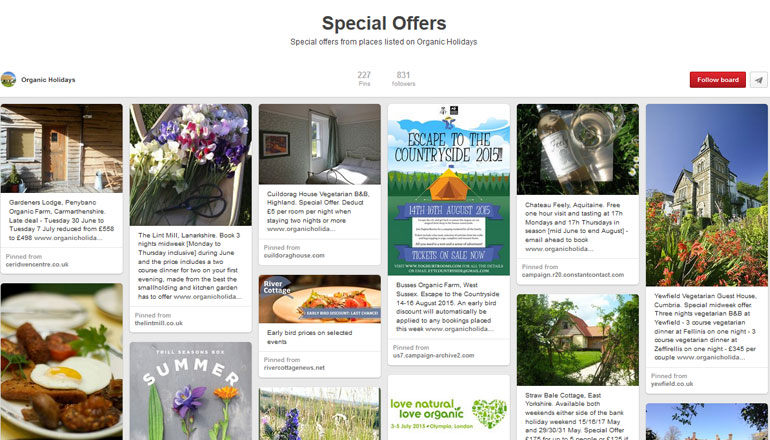 Pinterest Special Offers 1