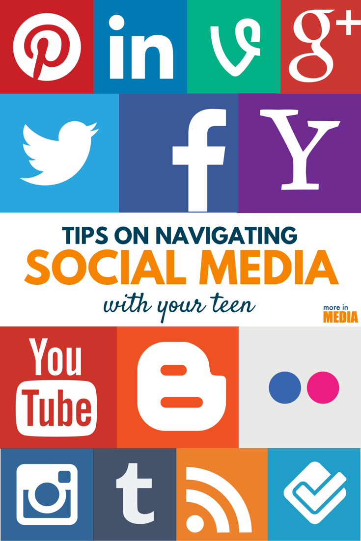 Tips on navigating social media with your teen. Age appropriate conversations to have now.