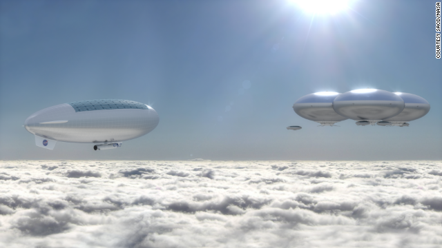 NASA Proposes City On Venus Called Cloud City, And The Technology Already Exists image 141222115103 cloud city horizontal gallery6.png6