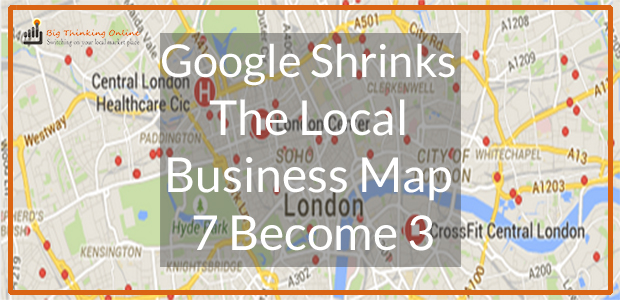 Google Shrinks the Business Map