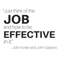 Learn to be effective in your job.