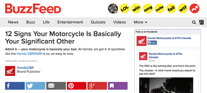 Honda-Buzzfeed-Screenshot