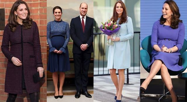 凱特王妃穿舊衣挺慈善!最美孕婦連三胎孕期都穿「它」的原因是…