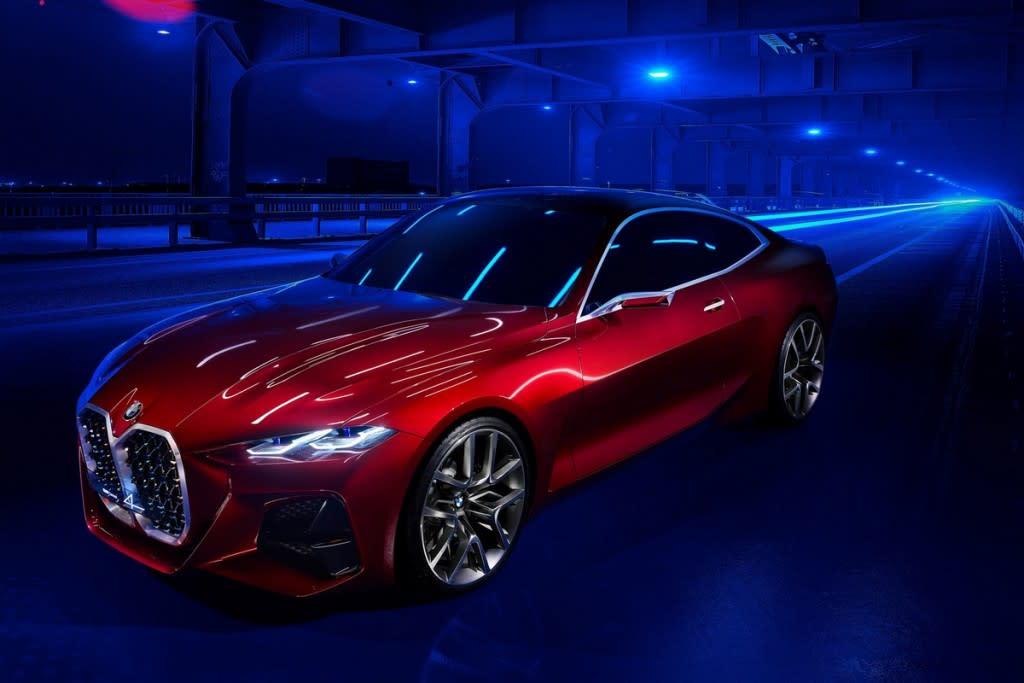 【2019法蘭克福車展】BMW Concept 4預覽未來4 Series Gran Coupe及i4